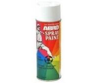 ABRO. Краска белая глянцевая (SP-016) спрей, 400мл