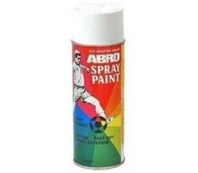 ABRO. Краска белая матовая (SP-020) спрей, 227 гр