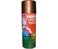 ABRO. Краска медная (SP-028) спрей 0,4л