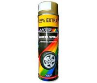 Motip. 4008 Краска для дисков золотистая, спрей 500мл
