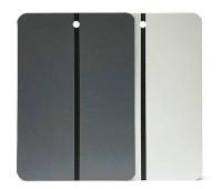 Radex.680000 Металлические тест пластины для нанесения краски (светло серые) 1шт