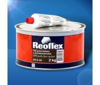 REOFLEX.  Шпатлевка с углеволокном Flex Carbon, 2кг