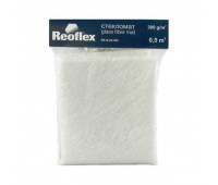 REOFLEX. Стекломат (300 гр/1кв.метр) 0,5 кв.метр