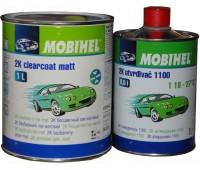Mobihel. low VOC прозрачный матовый акриловый лак + отвердитель (1л+0.5л)