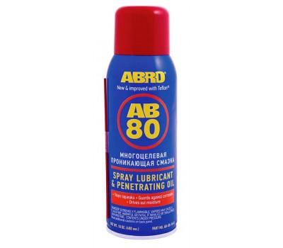 ABRO. Смазка спрей универсальная (АВ-80-10-R) 400 мл