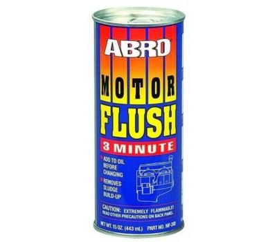 ABRO. Промывка двигателя (MF-390) (3 минуты) 443мл