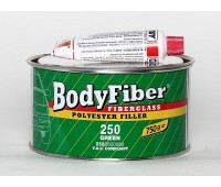Body 250. Fiber-Soft  шпаклевка полиэфирная со стекловолокном с отвердителем, 0.75 кг