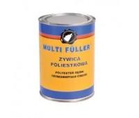 Multi Filler. POLYESTER RESIN Ремонтная полиэфирная двухкомпонентная смола с отвердителем 1кг + 40г