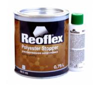 Reoflex. Шпаклевка полиэфирная жидкая с отвердителем, 0.8 кг