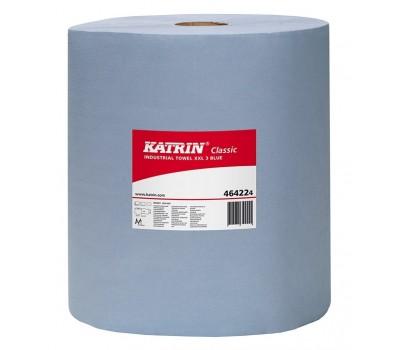 Katrin. Протирочные трёхслойные бумажные салфетки 38х38 см, рулон 500шт
