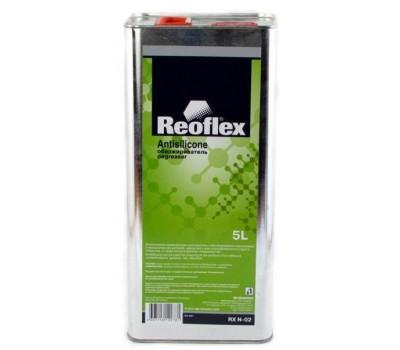 REOFLEX. Очиститель силикона стандартный (обезжириватель), 5л