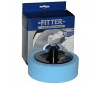 FITTER Круг №3 на винте М14/50 полировочный синий мягкий D150x50мм