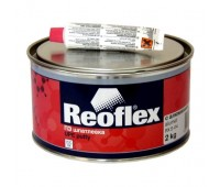 REOFLEX.  Шпатлевка с алюминием Alumet c отвердителем, 2 кг