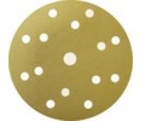 SUNMIGHT.44303 Gold круг шлифовальный на липучке 150мм 15отв. Р40