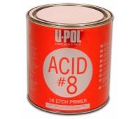 U-POL. ACID/1 ACID 8 Грунт протравливающий (кислотный) серый, 1л