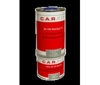CarFit. (7-222-1500) Прозрачный акриловый лак HS + отвердитель (комплект 1л+0.5л)