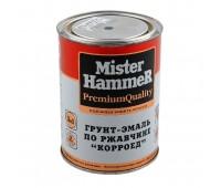 "КВИЛ. Грунт ""КОРРОЕД"" Mister Hammer ПО РЖАВЧИНЕ серый  0,9кг."