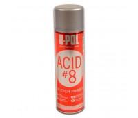 U-POL. ACID/AL ACID 8 Грунт протравливающий (кислотный) серый, спрей 450мл