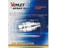 "Voylet. JF регулятор давления на краскопульт, 1/4"""