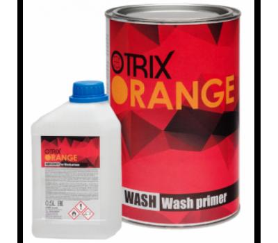 OTRIX. ORANGE WASH PRIMER 2+1 кислотный грунт + отвердитель,  1л + 0.5л