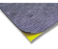 APP. MW 500А (алюминий) cамоклеящийся битумный звукоизолирующий мат, 500х500 мм
