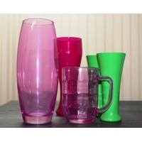 Краски для стекла, керамики и фарфора, колеровка RAL и в цвет заказчика