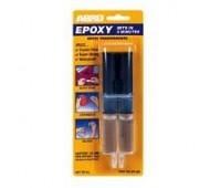 ABRO. Клей (EP-300) эпоксидный прозрачный в шприце, 25мл