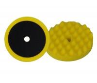 APP. 080502 Полировальный круг профильный универсальный желтый на липучке D210