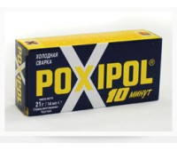POXIPOL. Клей эпоксидный, серый, 14мл/16г