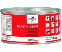 CARSYSTEM. (127976) ELASTIC шпаклевка полиэфирная эластичная финишная с отвердителем, 2 кг