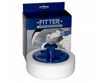 FITTER Круг №1 на винте М14/50 полировочный белый жёсткий D150x50 мм