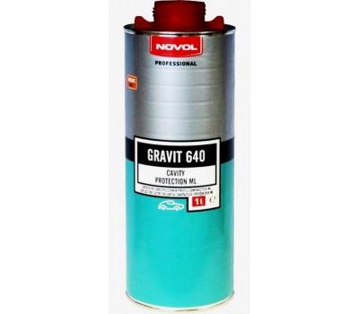 NOVOL. 37701 GRAVIT ML 640 Антикор для защиты скрытых полостей кузова, 1л