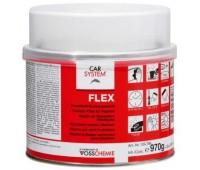 CARSYSTEM. (134796) FLEX шпаклевка полиэфирная для пластиков с отвердителем, 1кг