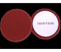 ISISTEM. Полировальный круг PROFI жёсткий 150/30 мм (бордовый)