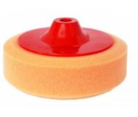 NOVOL. Полировальный круг B, средний, 150/50 мм c резьбой (оранжевый)