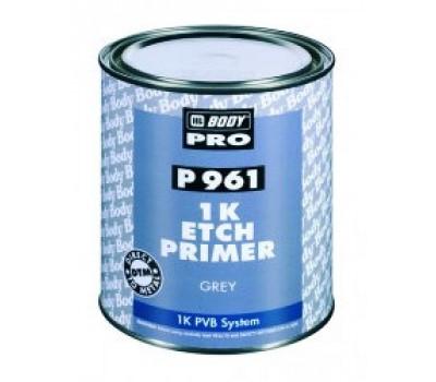 BODY 961. Etch Filling Primer 1К кислотный грунт-наполнитель (серый), 1л
