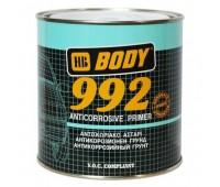 Body 992. Грунт антикоррозийный однокомпонентный 1К, коричневый, 1кг