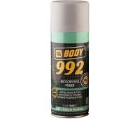 Body 992. Грунт антикоррозийный 1К, серый, спрей 400мл