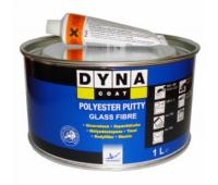 DYNACOAT. Glass Шпатлевка со стекловолокном и отвердителем, 0.4кг