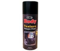 BODY. Текстурная  краска для бамперов черная, спрей 400 мл.