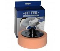 FITTER Круг №2 на винте М14/50 полировочный оранжевый универсальный D150x50мм