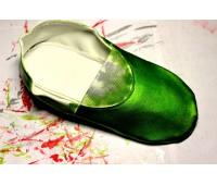 """Краска КЭНДИ """"Цвет Зелёный"""" для кожи, кожзама, пвх полиуретановая, 100г"""