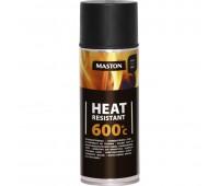 Мастон 710-221 Краска термостойкая черная 600 С  0,4л
