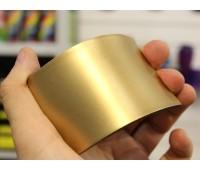 Краски для изделий из резины полиуретановые, цвет ЗОЛОТО, на развес 100г+16г (краска+отвердитель)