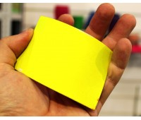 Краски для изделий из резины полиуретановые флуоресцентные ультраяркие, цвет ЖЁЛТЫЙ, на развес 100г+10г (краска+отвердитель)