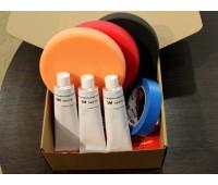 Набор для полировки №2 (абразивная полировка СИЛЬНО ИЗНОШЕННОГО СВЕТЛОГО лакокрасочного покрытия)