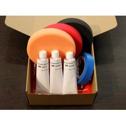 Готовые эконом-комплекты для самостоятельной полировки кузова и фар
