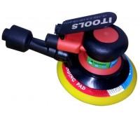 ITOOLS. Пневматическая орбитальная шлифовальная машинка 152-2,5-H6-VS-ECO, ход 2.5 мм, подошва 150 мм