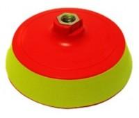 Wenkai. Оправка SOFT(мягкая) с липучкой 125х25мм резьба М14 для полировальных кругов
