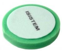 ISISTEM. Полировальный круг PROFI средней жёсткости  150/30 мм (зелёный)
